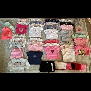 💗BABY GIRL CLOTHES BUNDLE💗